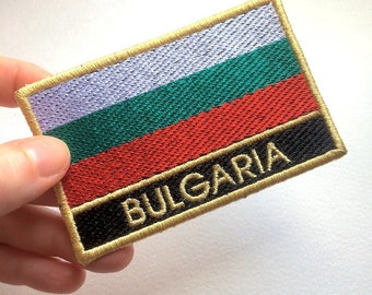 Bulgaria Flag Embroidered Patch