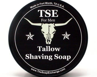 Barbershop Shaving Soap, Shave Soap, Traditional Wet Shaving Soap, Italian Style Shave Soap, The Soap Exchange