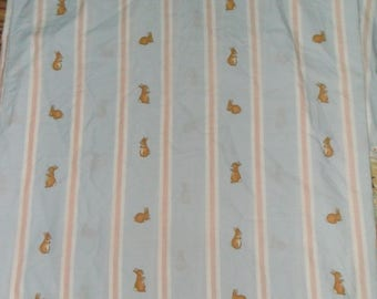 Rare Mini Peter Rabbit Cotton Fabric