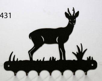 Hangs key pattern metal: deer