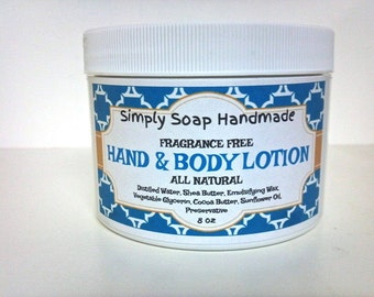 Lotion,Natural Lotion,Shea Butter Lotion,Cocoa Butter Lotion,Fragrance Free Lotion,Unscented Lotion,Sensitive Skin Lotion,Hand Cream