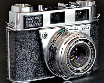 Kodak Retina II S Film Camera w Retina-Xenar 45mm f/2.8 Schneider-Kreuz Lens MiNTY !