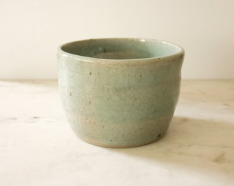 Handmade Studio Planter in Seafoam