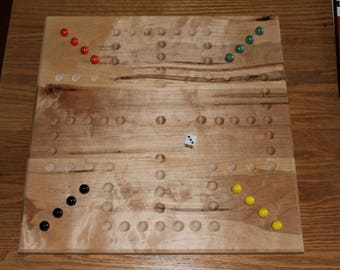 Handmade Aggravation Board Games