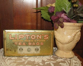 Vintage Lipton Tea Bag