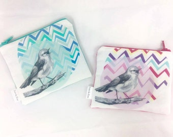 Singing Bird Coin Purse