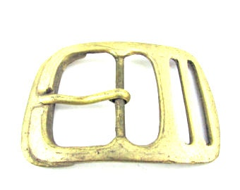 Vintage bronze belt buckle 60's