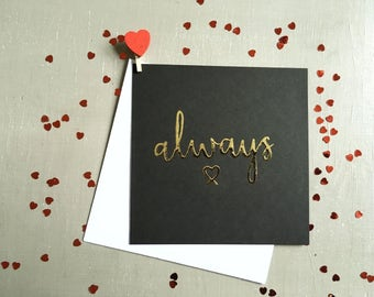 Harry Potter Card, After All This Time, Always, Wedding Card, Anniversary Card, Valentine's Card, Card For Boyfriend, Card For Girlfriend