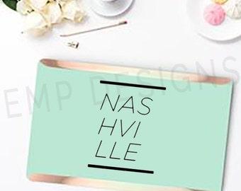 Nashville Laptop Decal -Nashville Sticker - Tennessee, tn Window Decal, Music City Car Decal, Laptop Sticker, Bumper Sticker