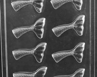 Flavortools Life of the Party Mermaid Tail Fin Chocolate Candy Mold Sealed Poly Bag Imprinted with Flavortools Molding Instructions N067