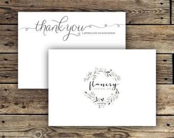 Printable Business Thank You Card