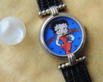 Vintage Betty Boop Quartz Watch