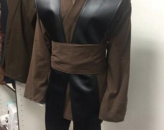 Star Wars Anakin skywalker Jedi PadawanTunic, Tabards , Obi set
