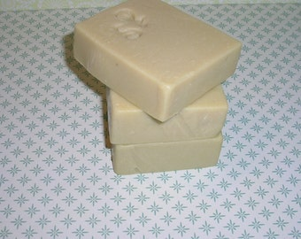 olive oil SOAP cherry Blossom, vegetable natural craft SOAP