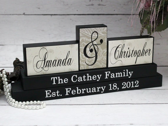Cool Wedding Gifts For Parents : Unique Wedding Gift for Couple, Parents Anniversary Gift, Personalised ...