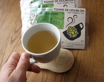 Menthe Menthe Classique - Hop Mint Apple and Honey herbal tea; relaxing and digestive (15g)