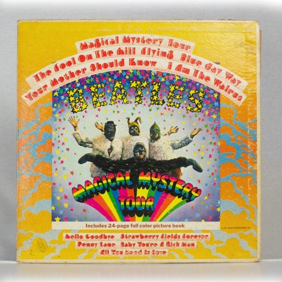 The Beatles Magical Mystery Tour 1967 Album Parlophone Capitol EMI Records Original Vintage Vinyl