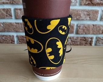 Batman Corset Style Cup Cozy