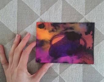 Postcards   handdrawn, zen, gift, card, drawing, art, unique, minimal art, pendrawing