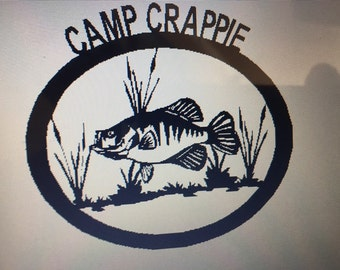 Custom Camp Sign