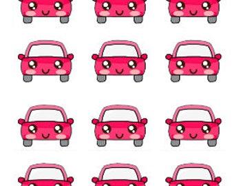 Car Stickers , 135 piece set , Journals , Calendar , reminder , Labels , appointments , dates