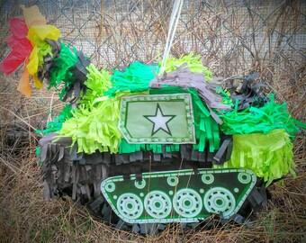 Military Tank Pinata