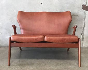 Danish Modern Settee by Kurt Ostervig (U6NJE2)