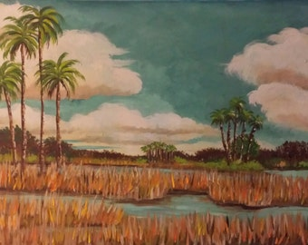 Florida Marshlands No. 2