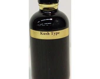 Kush (U) Type Designer Fragrance Body Oil 4 Oz Bottle