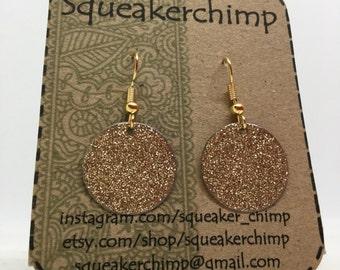 Gold Enamel Earrings, Enamel Earrings, Dangle Earrings, Gold Earrings, Drop Earrings, Enamel Jewelry, Circle Earrings, Glamorous Earrings