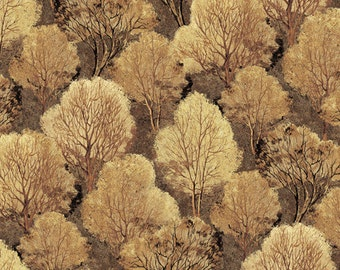 Quail Brown Trees from Andover by the yard