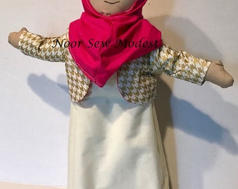 Leena Muslim doll - Proud to be a Muslim Collection