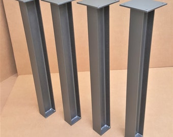 Heavy Structural I beam legs. TTI08 Set of 4 legs.