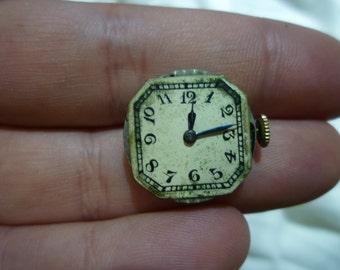 D18 Vintage Silena 14K Swiss Wrist Watch, Working.