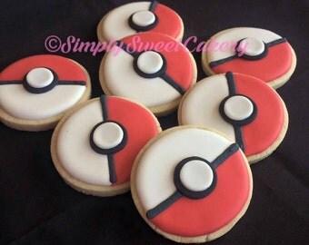 24 Pokemon Cookies
