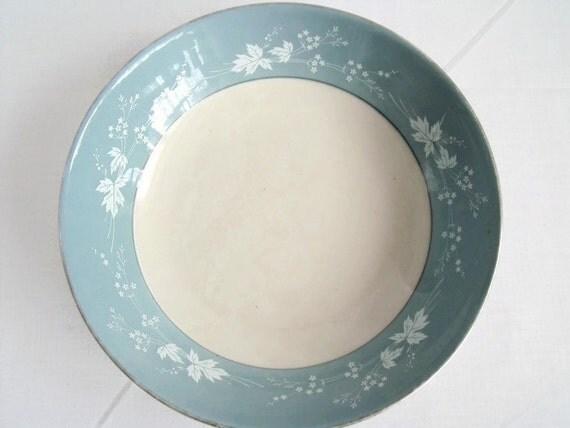 vintage Royal Doulton china cereal bowls, bone china dishes, reflections pattern, floral design, three available