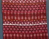 Pink red black corduroy f...