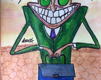 Freaky Fred Painting