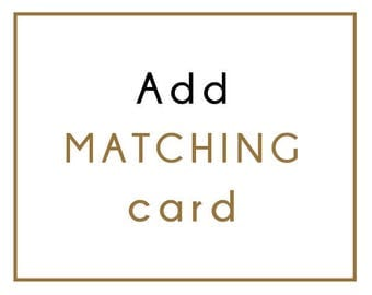 Add matching card
