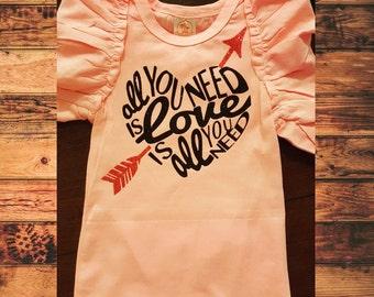 All You Need is Love - Custom Valentine Shirt