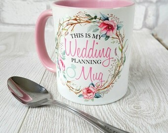 This is my wedding planning mug wedding mug coffee mug wedding wedding planner personalized mug custom mug ceramic mug wedding shower gift
