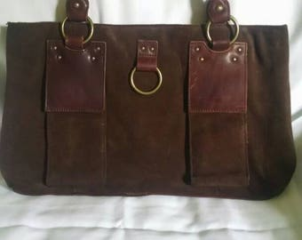 Sundance suede handbag