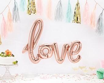 """40"""" LOVE Balloon"""
