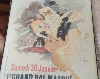 Vintage Print/Litho Theatre De L'Opera Jules Cheret