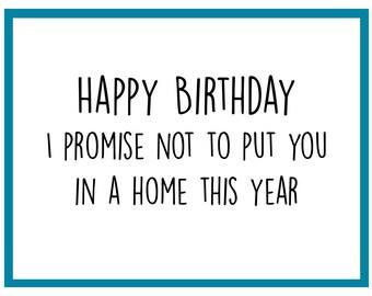 A Home - Birthday Card