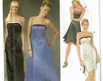 Simplicity Pattern 5221 Jr.'s Evening Dresses & Purse Size 3-10 UNCUT