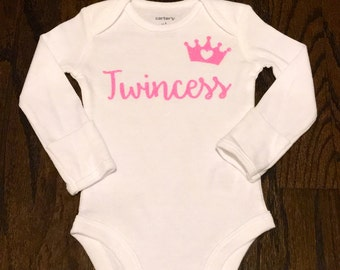 Twincess Baby Outfit baby girl twin princess