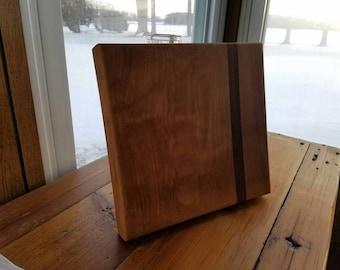 Birch and Black Walnut Cutting Board