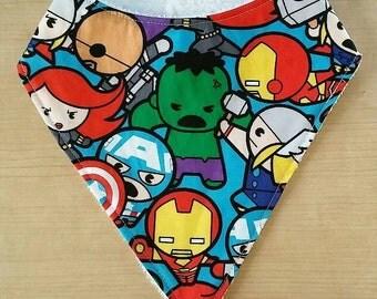 Avenger Kids Terry Cloth Baby Bib