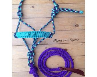 Custom Rope Halter & Lead Rope